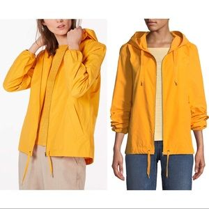 NWT Eileen Fisher Hooded Zip Jacket in Mango